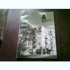 REVISTA ARCHITEKTUR DER DDR NR.3/86 (REVISTA DE ARHITECTURA, TEXT IN LIMBA GERMANA)