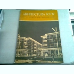 REVISTA ARHITECTURA RPR NR.3/1959