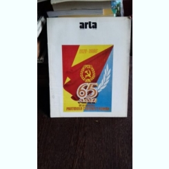 REVISTA ARTA NR.5/1986 - 65 ani PCR grafica militanta Rosenthal muzeul satului arhitectura