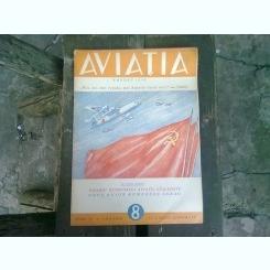 REVISTA AVIATIA, NR. 8 /1949