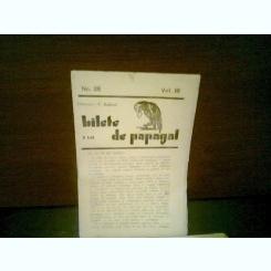 REVISTA BILETE DE PAPAGAL NR.28/VOL III