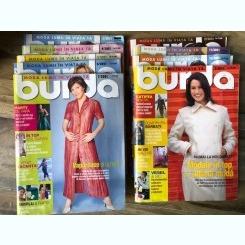 Revista Burda 2001,9 numere
