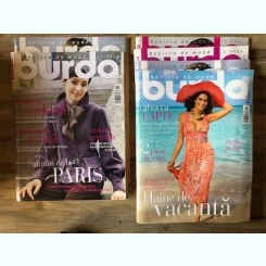 Revista Burda 6 numere din anul 2008 cu tipare