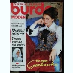 REVISTA BURDA  NR 10 - OCTOMBRIE 1993