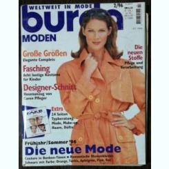 REVISTA BURDA  NR 2 - FEBRUARIE  1996