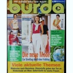 REVISTA BURDA  NR 3 - 1999