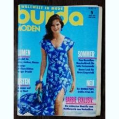 REVISTA BURDA  NR 5 - MAI 1993