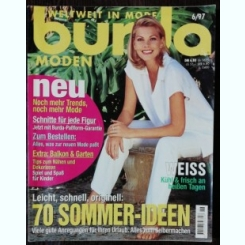 REVISTA BURDA  NR 6 - IUNIE 1997