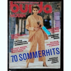 REVISTA BURDA  NR 7 - IULIE 1992