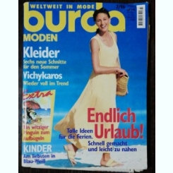 REVISTA BURDA  NR 7 - IULIE 1996