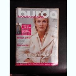 Revista Burda nr.10/2005 text in limba germana