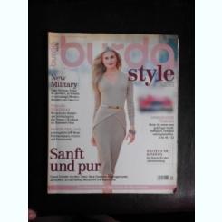 Revista Burda nr.10/2013 text in limba germana