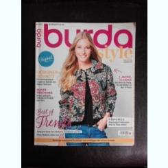 Revista Burda nr.10/2017 text in limba germana