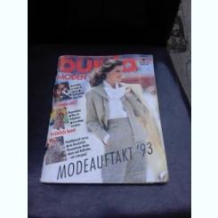 REVISTA BURDA NR.1/1993, TEXT IN LIMBA GERMANA