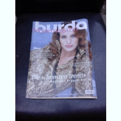 REVISTA BURDA NR.2/2006, TEXT IN LIMBA GERMANA CU INSTRUCTIUNI DE CUSUT IN LIMBA ROMANA