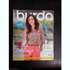 Revista Burda nr.2/2018 text in limba germana
