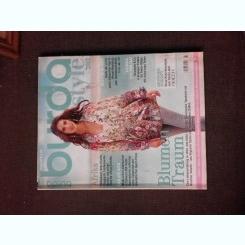 Revista Burda nr.5/2015 text in limba germana