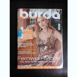 Revista Burda nr.7/2005 text in limba germana