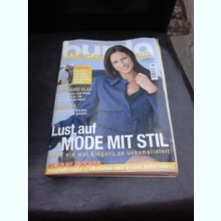 REVISTA BURDA NR.8/2002, TEXT IN LIMBA GERMANA CU INSTRUCTIUNI DE CUSUT IN LIMBA ROMANA