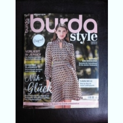Revista Burda nr.8/2017 text in limba germana