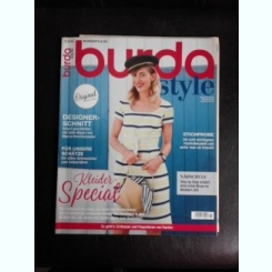 Revista Burda nr.8/2018 text in limba germana