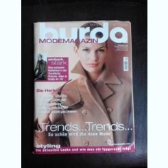 Revista Burda nr.9/2005 text in limba germana