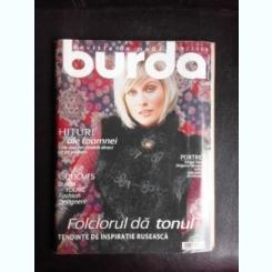 Revista Burda nr.9/2006 text in limba romana