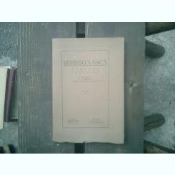 Revista clasica Orpheus Favonius tom. VIII 1936 - N. I. Herescu