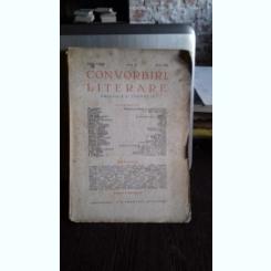 REVISTA CONVORBIRI LITERARE NR.5/1939
