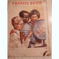 REVISTA CRAVATA ROSIE NR.9/1953 REVISTA PIONIERILOR SI SCOLARILOR