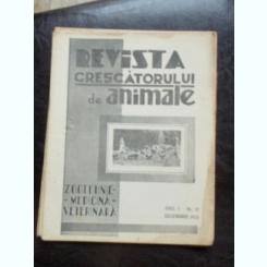 REVISTA CRESCATORULUI DE ANIMALE NR.12.DECEMBRIE 1935