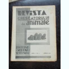 REVISTA CRESCATORULUI DE ANIMALE NR.4/APRILIE 1935