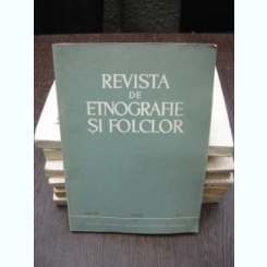 REVISTA DE ETNOGRAFIE SI FOLCLOR NR.1/1979
