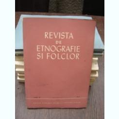 REVISTA DE ETNOGRAFIE SI FOLCLOR NR.2/1964
