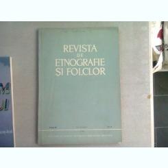 REVISTA DE ETNOGRAFIE SI FOLCLOR NR.2/1968