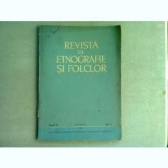 REVISTA DE ETNOGRAFIE SI FOLCLOR NR.4/1966