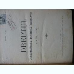 Revista Dreptul, anul L, 1922