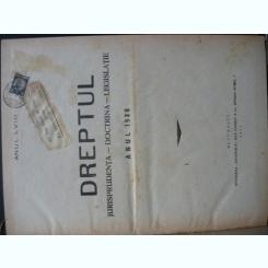 Revista Dreptul, anul LVIII, 1930