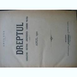 Revista Dreptul, anul XXX, 1901