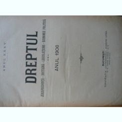 Revista Dreptul, anul XXXV, 1906
