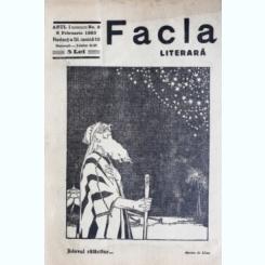REVISTA FACLA LITERARA NR.2/1923