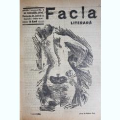 REVISTA FACLA LITERARA NR.4/1923