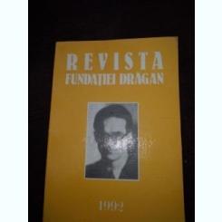 Revista fundatiei Dragan 1992  Romania si Europa