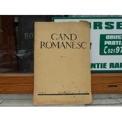 REVISTA GAND ROMANESC , NR. 8 , ANUL I , DECEMBRIE , 1933