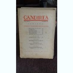 REVISTA GANDIREA NR.8/OCTOMBRIE 1943