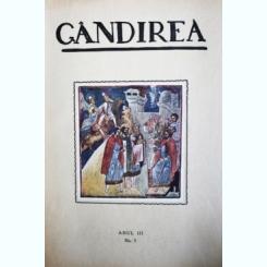 Revista Gandirea,Anul III,NR.5,noiembrie 1923