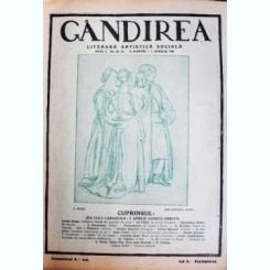 Revista Gandirea,Anul I,Nr.22-23,1 aprilie 1922,schita 2 Aprilie,inedita,I.L.Caragiale