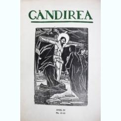 Revista Gandirea,Anul IV,NR12-13,Femeia de ciocolata,Gib Mihaescu,inedita, L.Blaga s.a,