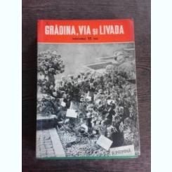 REVISTA GRADINA, VIA SI LIVADA NR. 11/1961