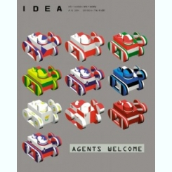 REVISTA IDEA AGENTS WELCOME NR.18/2004  (IN LIMBA ENGLEZA SI ROMANA)